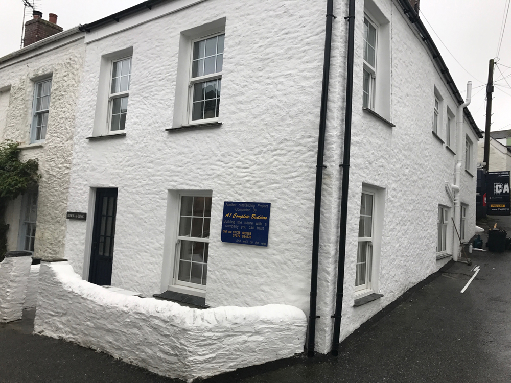 Cottages Renovation – Portscatho – 2017
