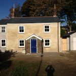 Charlestown Cottage after Cob Renovation Work