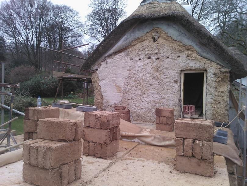 Cob & Lime Repairs at Feock