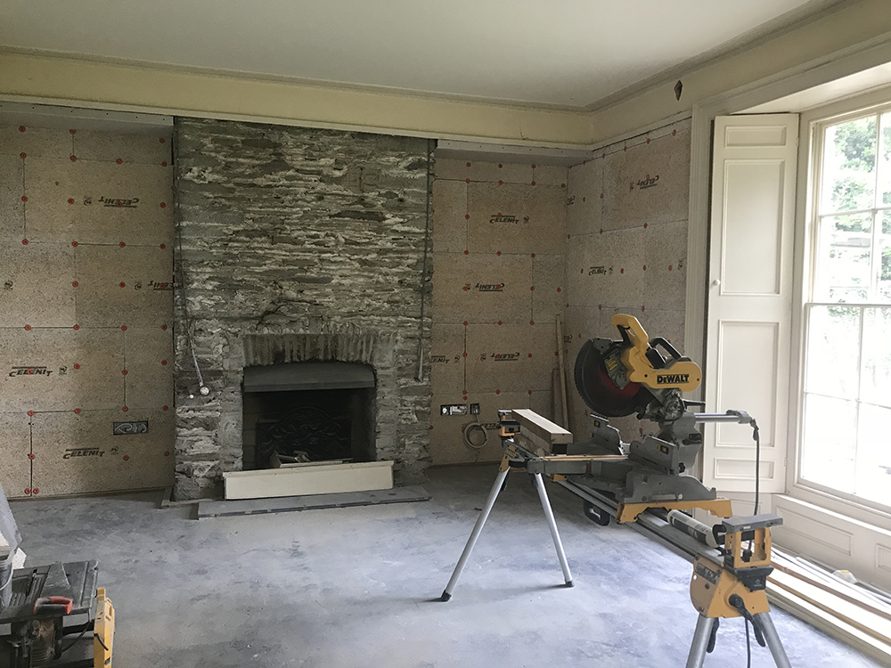 Insulating Lime Plaster at The Rectory