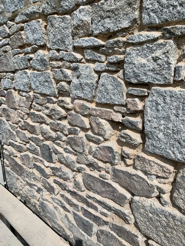 Repointing – The Old Chapel, Seworgan